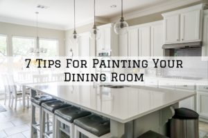 tips for painting your dining room